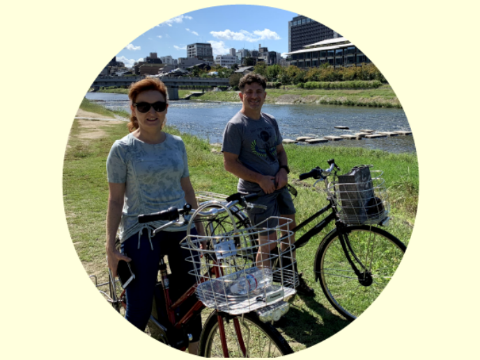 Electric assisted bike cycling tour